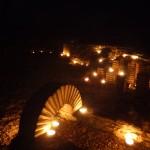 gisacum à la lueur des bougies